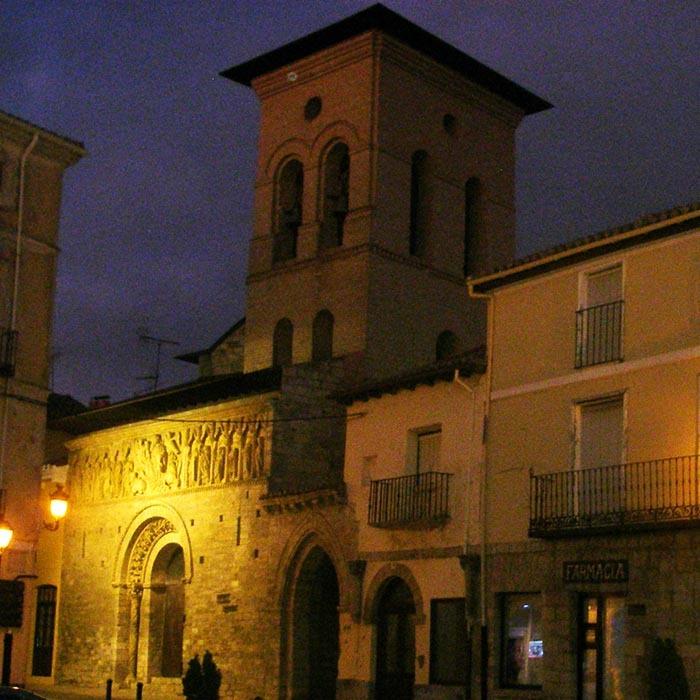 Etapa del camino de Santiago entre Fromista y Carriçon de los Condes