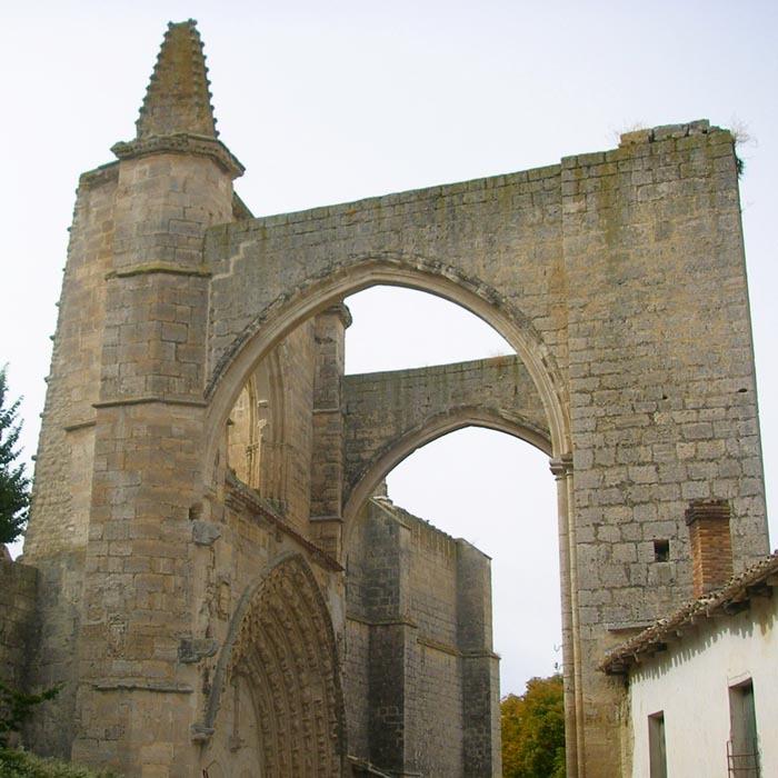 Etapa Camino de Santiago entre Hontanas y Fromisa