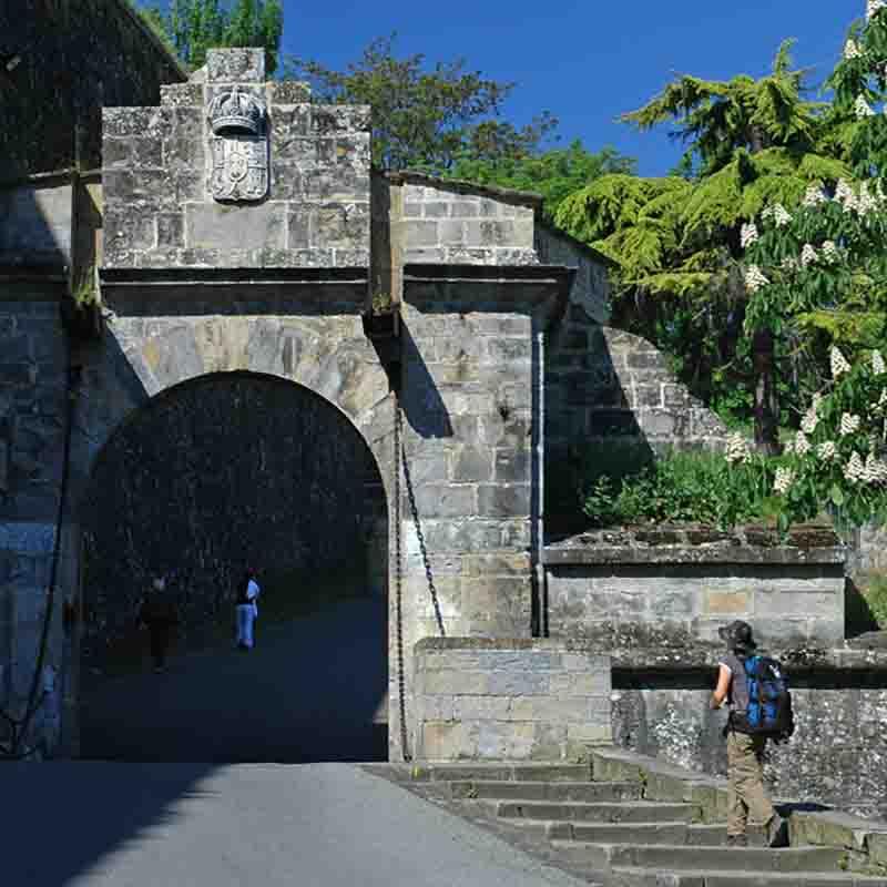 camino de santiago etapa zubiri pamplona