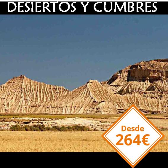 4 dias desiertos y cumbres en Navarra