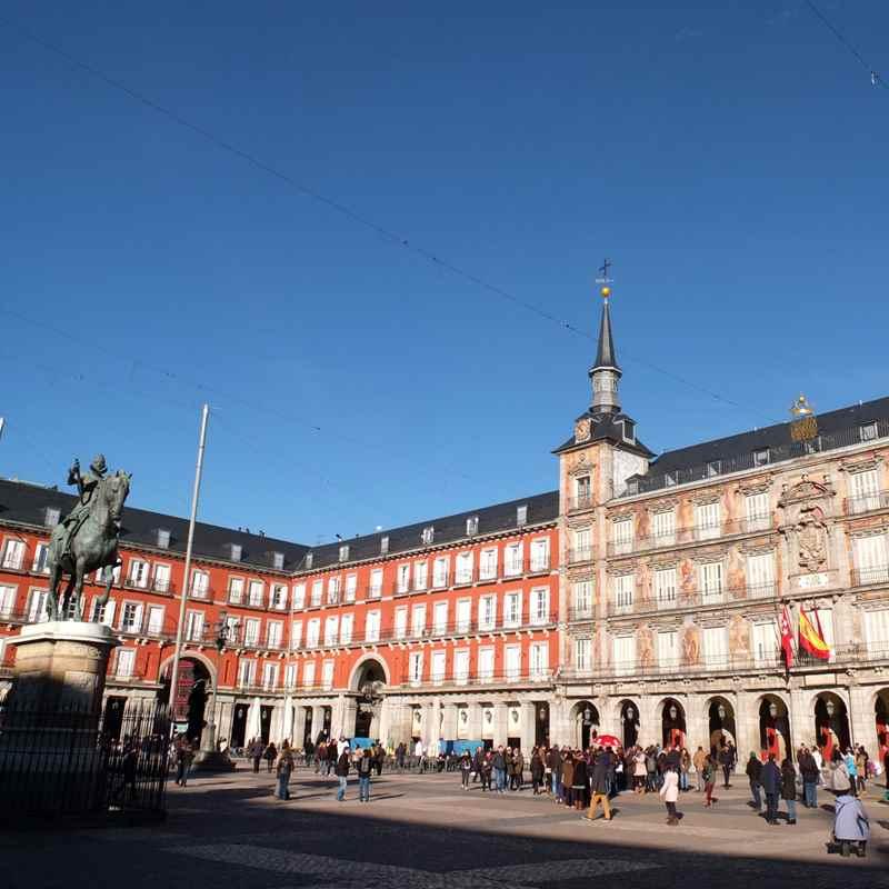 centro histórico de madrid